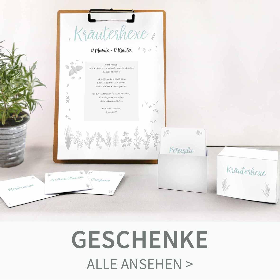 Drucke und Bastle originelle und kreative Geburtstagsgeschenke