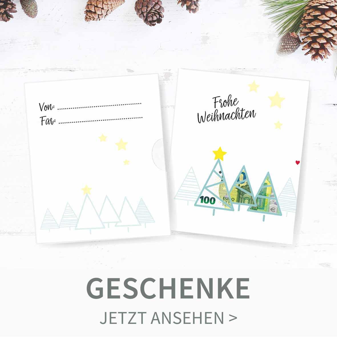 Druckvorlagen für DIY Weihnachtsgeschenke
