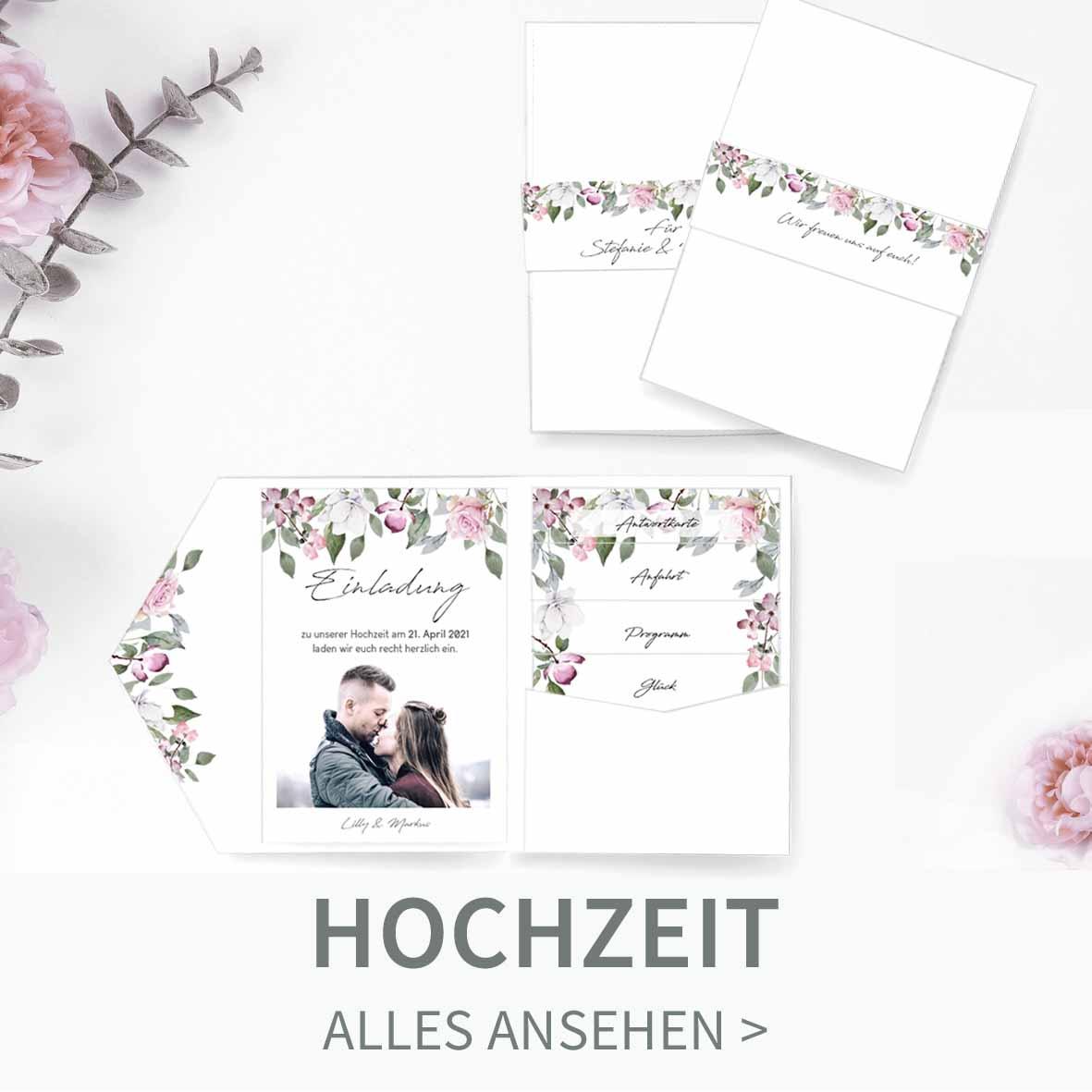 Druckvorlagen für eure Hochzeitseinladungen