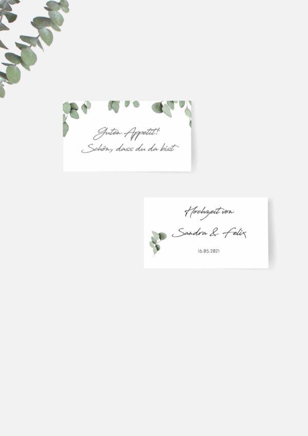 Druckvorlagen für Etiketten im Greenery Stil