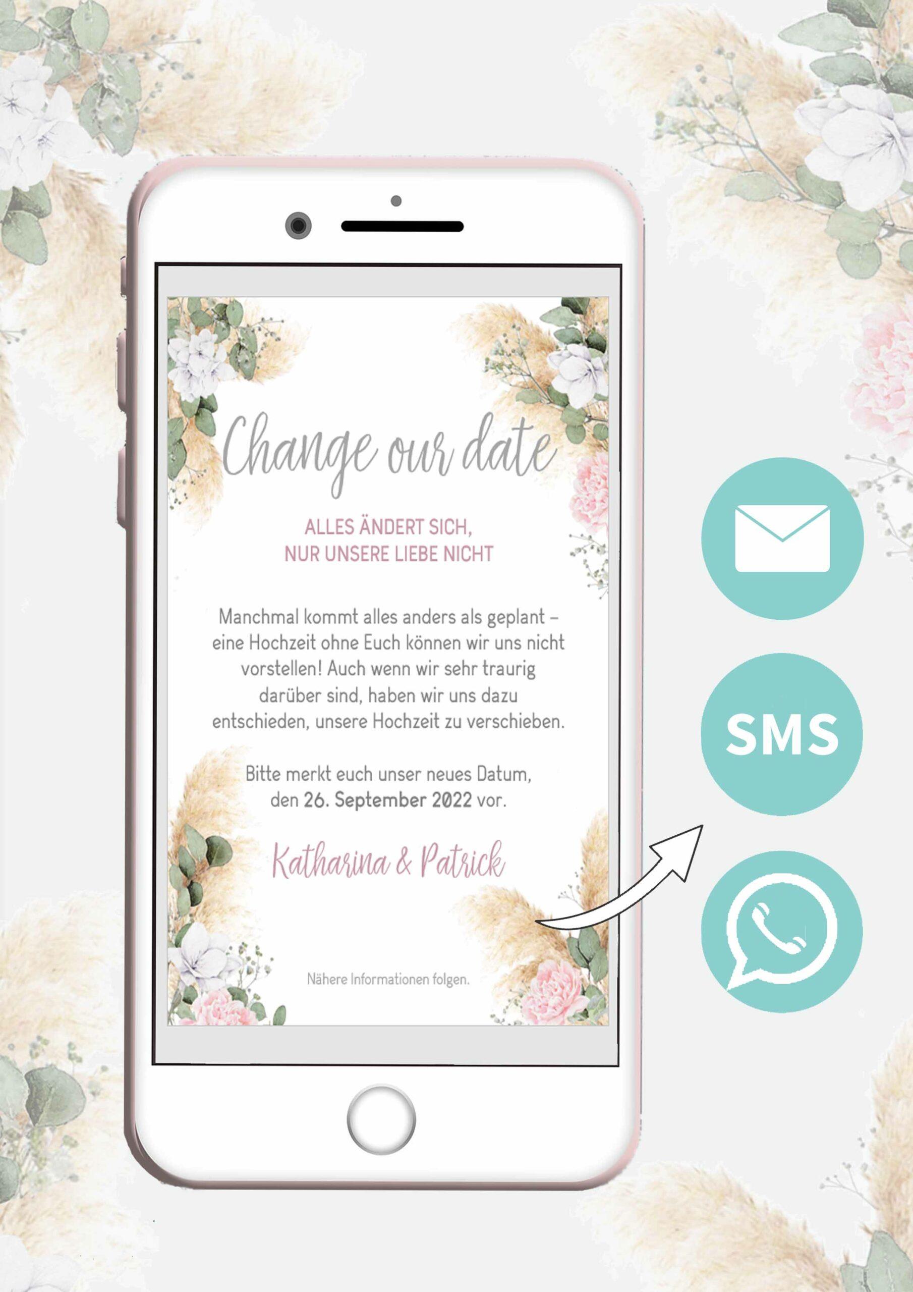 Hochzeit verschieben oder absagen schnell und preiswert
