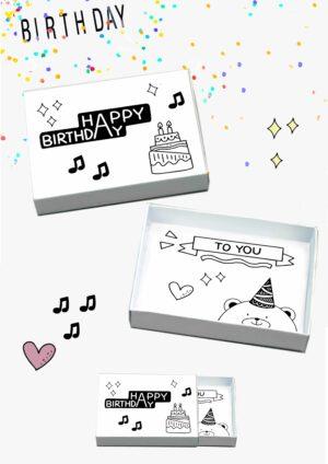 Druckvorlagen für Geburtstagswünsche aus der Box