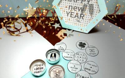 KOSTENLOS: Teelicht Botschaften für deine Silvester Party