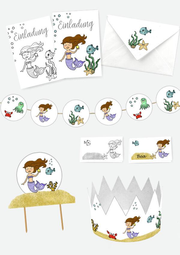 Druckvorlagen für die perfekte Einhorn Geburtstagpart