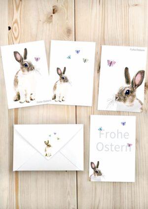 Druckvorlagen für Osterkarten