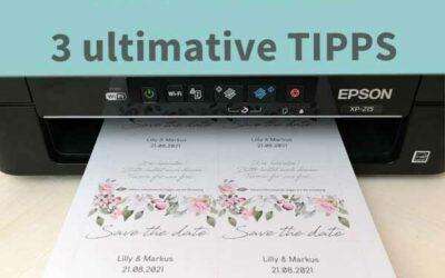3 ULTMATIVE TIPPS: So sparst du bei den Hochzeitskarten, der Deko und den Accessoires richtig viel Geld